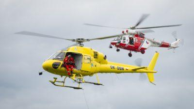 Hradecká Helicoptershow za humny