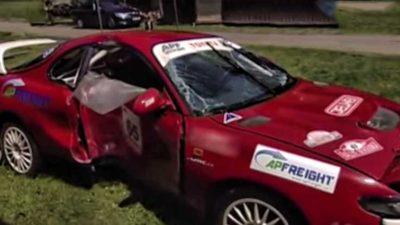 Smrt ukončila Rallye na Rychnovsku. Bude se vyšetřovat