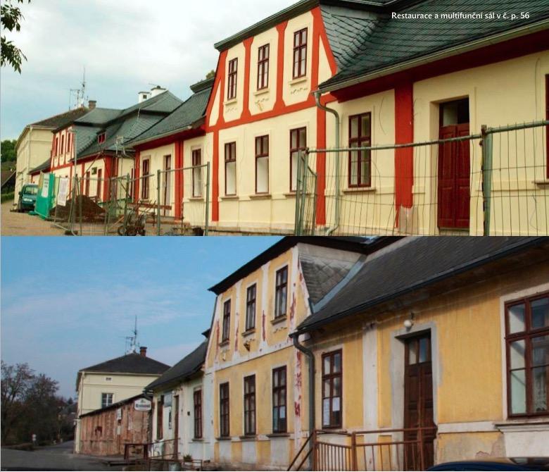 Rekonstrukce č. p. 57 (bývalá restaurace U Prďoly)