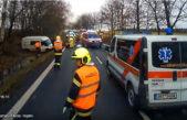 Video ze záchranné akce při nehodě ve Střítěži