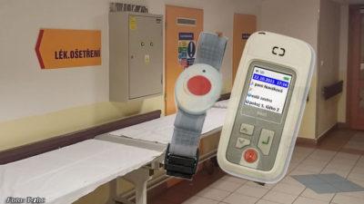 Bezpečnostní náramky v trutnovské nemocnici