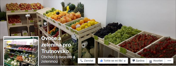 Zelenina šubrt na facebooku trutnov