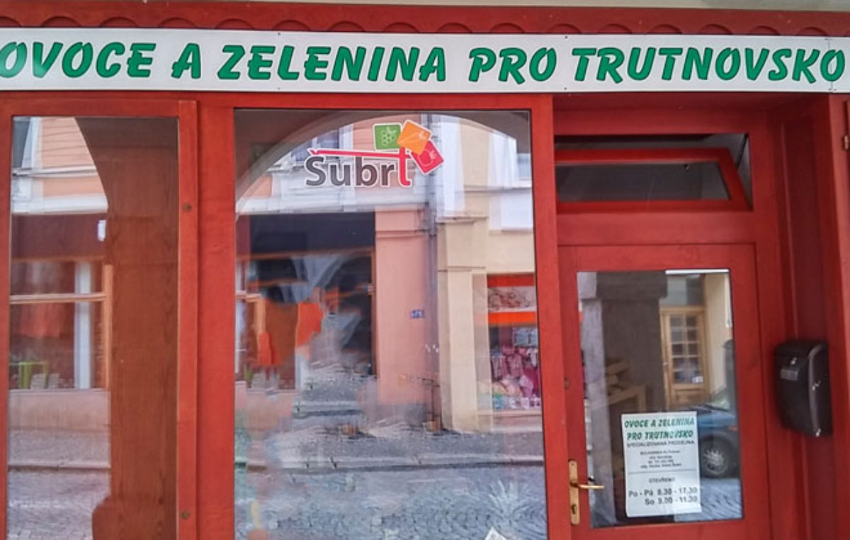 Nový obchod s ovocem a zeleninou v Bulharské