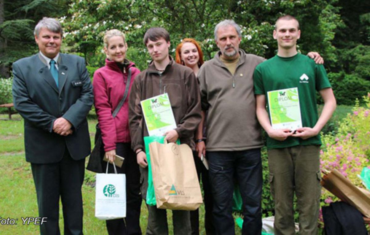 Družstvo Čelské lesnické akademie Trutnov zvítězilo