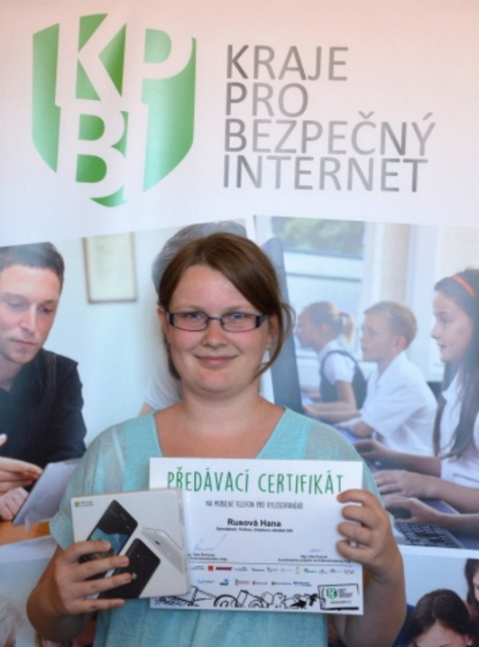 Hana Rusová z Trutnovského gymnázia