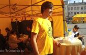 Zdravotní vyšetření a soutěže s odměnou na Krakonošově náměstí