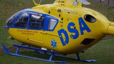 Vrtulník zasahoval v Šestidomí