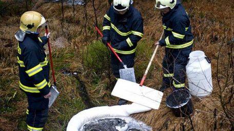 Zá únik topného oleje v Kocbeřích hrozí pokuta až jeden milion korun