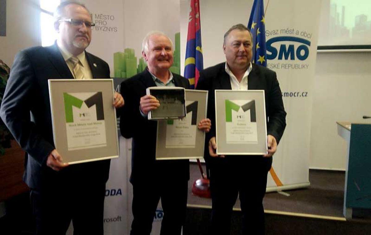 """Trutnov obsadil 3. místo ve výzkumu """"Město pro byznys"""""""
