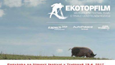 Pozvánka na filmový festival v Trutnově