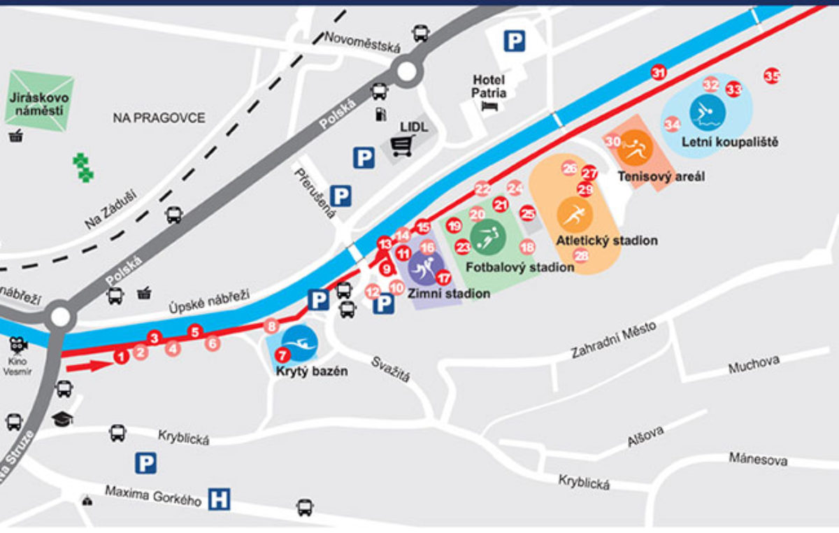 Prezentace sportovních klubů v Trutnově – Rozhýbejme Trutnov!
