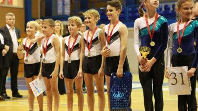 Na republikovém finále TeamGymu 2017 byli sporotovci Spartaku Trutnov úspěšní