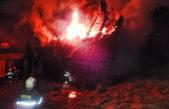 Noční požár chalupy v Javorníku způsobil škodu asi milion korun
