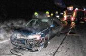 Vandalové ničili a k tomu ještě nehoda v Hajnici