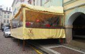 První vyhřívaná předzahrádka je už měsíc na Krakonošově náměstí