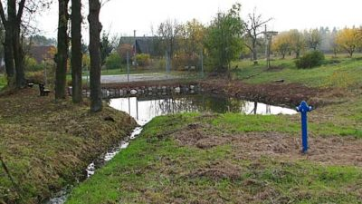 Město Trutnov opravilo vodní nádrž ve Studenci