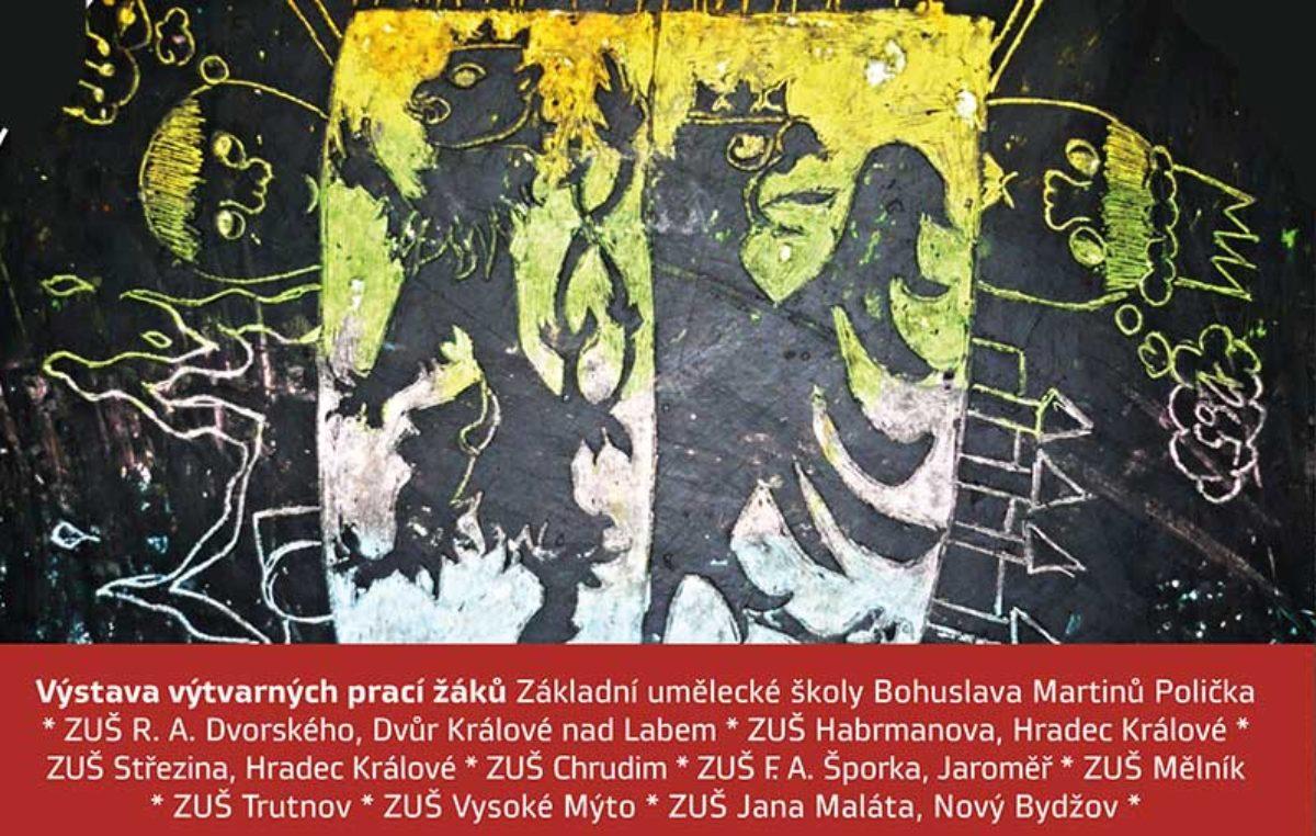 """Žáci trutnovské ZUŠ vytvořily dvourozměrné dílo na téma """"symboly města"""""""