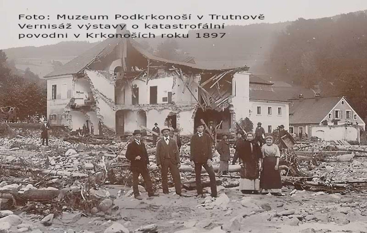 Vernisáž o největší povodňové katastrofě chystá Muzeum Podkrkonoší v Trutnově
