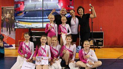Gymnastky Junior III.  přivezly zlato z Mistrovství České republiky v TeamGymu