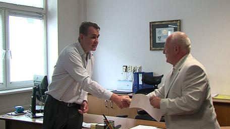 Vedení nemocnice se včera ujal MUDr. Martin Limburský
