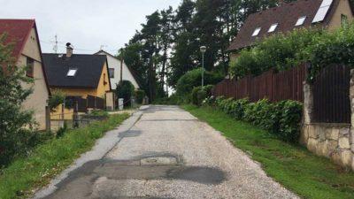 Opravy silnic a chodníků vTrutnově