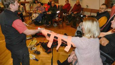 Listopadová akce Klubu vozíčkářů